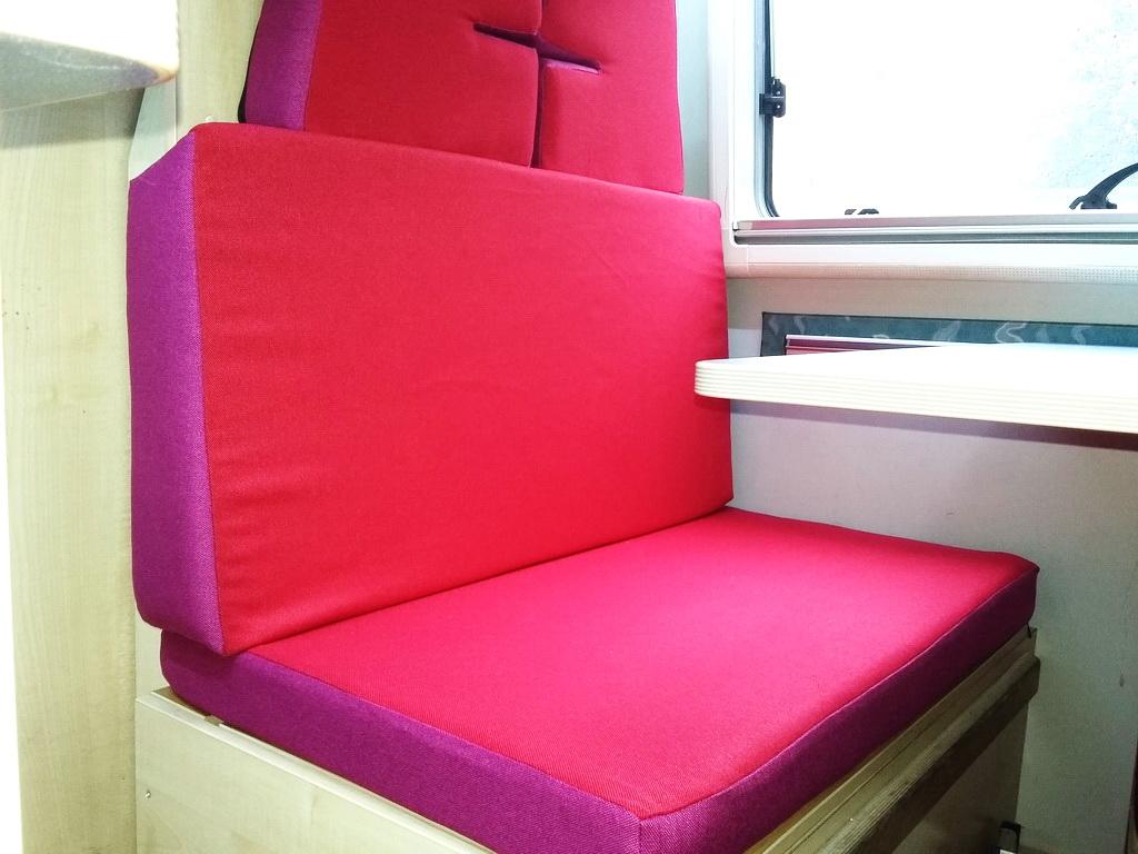 Перетяжка сидений в микроавтобус