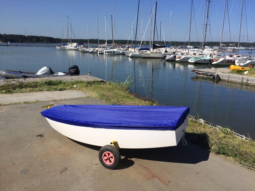 Транспортировочный тент-чехол для парусной лодки