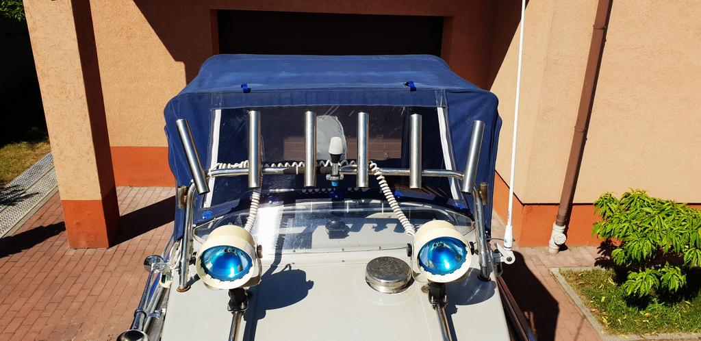Реставрация ходового тента на лодку Абрис 470