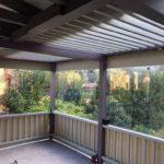 Защитные шторы-ПВХ на веранду