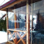Мягкие окна на террасу