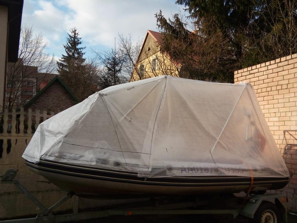 Тент на лодку Grand 550