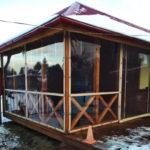 Защитные шторы для террасы