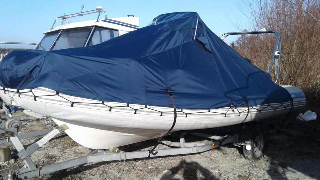 Транспортировочный тент на лодку Grand 550