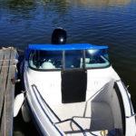 Теневой, стояночный тент на лодку