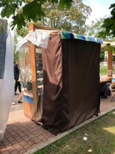 Изготовление тента на торговую палатку